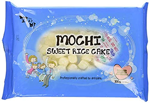 Mochi Sweet Rice Cake Topping - White 300g 10.58oz (Pack of 2)