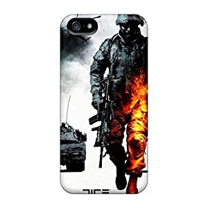 Cute Tpu Elaney Bad Company 2 Case Cover For Iphone 5/5s
