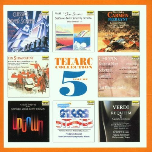 Telarc Collection, Volume 5: 17 Selections From The World's Finest Sounding Recordings (September 29, 1992) Audio CD