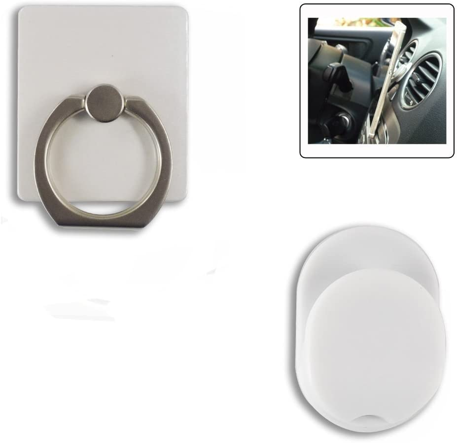 Tablet Ipad Cell phone holder Universal Smartphone Ring Grip Stand Car Mounts for Iphone White Samsung HTC Nokia Smartphones