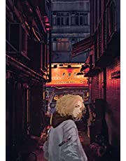 Anime Tokyo Revengers Poster Manji Gang Stad Neon Nacht Canvas Schilderij Art Slaapkamer Decoratie Kawaii Kamer DecorA2416 50×70CM Zonder Frame