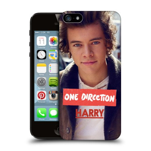 Official One Direction Jacket Harry Styles Photo Hard Back Case for Apple iPhone 5 / 5s / SE