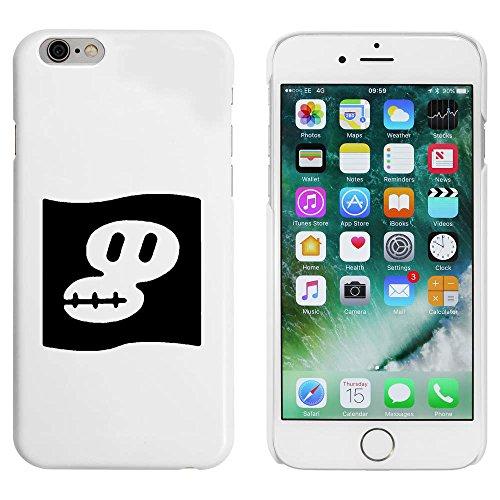 Blanc 'Drapeau Pirate' étui / housse pour iPhone 6 & 6s (MC00086005)