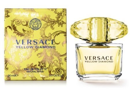 Price comparison product image Versace Yellow Diamond Eau de Toilette Spray,  3 Fluid Ounce