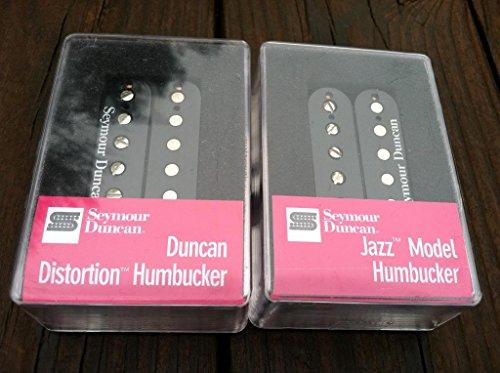 - Seymour Duncan Distortion SH-6 Bridge SH-2 Jazz Neck Humbucker Pickup Set BLACK
