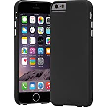 Case-Mate iPhone 6 Plus Barely There-Black-Carrying Case-Retail Packaging