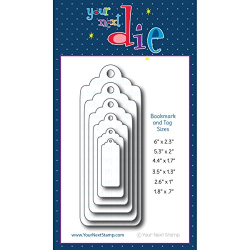 Your Next Stamp YNSD217 Die-Large Layered Bookmark