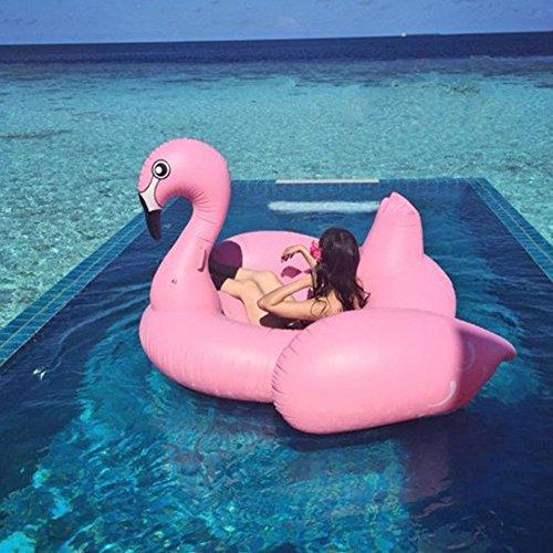 Bonbon 174 Original Giant Flamingo Inflatable Pool Float 80