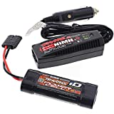 Traxxas 1 16 E-Revo VXL * POWER CELL 6-C 7.2v 1200mAh BATTERY - iD FAST CHARGER *