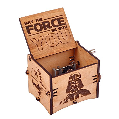 Enjoy The Wood Star Wars Music Box Wooden Star Wars Fans Custom Gift for Boyfriend Gift for Brother