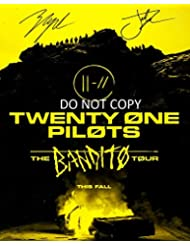 Twenty One Pilots TRENCH Banditos Tour 11x14 poster photo Josh Dun & Tyler Joseph