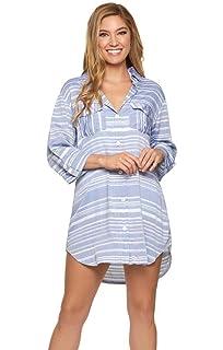ef110c99ef Dotti Women's Wovens Button Up Shirt Dress Swim Cover Up at Amazon ...