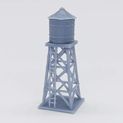 Outland Models Railway Scenery Old West Accessory Water Tower 1:220 Z Scale: Toys & Games