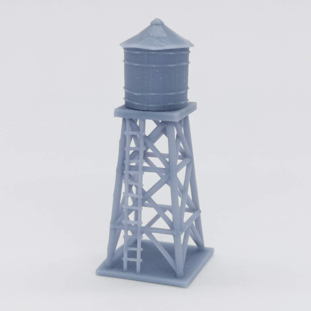 Outland Models Railway Scenery Old West Accessory Water Tower 1:160 N Scale