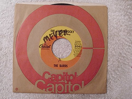 never too much love / the jabberwocky 45 rpm single