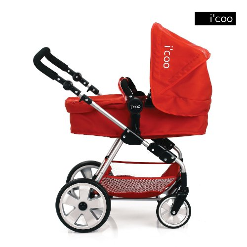Hauck Doll Stroller Pram I Coo Grow With Me Playset 4in1