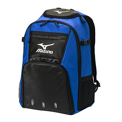 Mizuno Softball Backpack (Mizuno Organizer G4 Backpack - All Colors - Baseball or Softball (Royal))