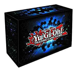 konami yugioh card game storage blue dual. Black Bedroom Furniture Sets. Home Design Ideas