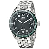 Oris Men's 73577064494SET Artix Analog Display Swiss Automatic Black Watch