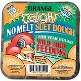 C & S Products Delight Suet Mix Beef Suet,Corn,Peanuts 11.75 Oz