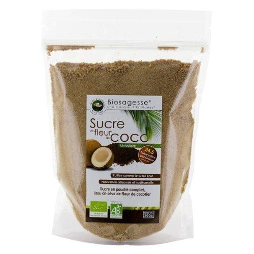 Sucre De Seve De Fleur De Cocotier En Poudre Bio 500 Gr