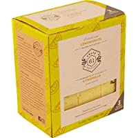Crate 61 Lemongrass Soap 3 pack, 100% Vegan Cold Process, scented with premium essential oils, for men and women, face…