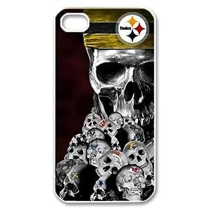 Gdragonhighfive iphone 4 case Creative NFL Pittsburgh Steelers Pattern iphone 4s case