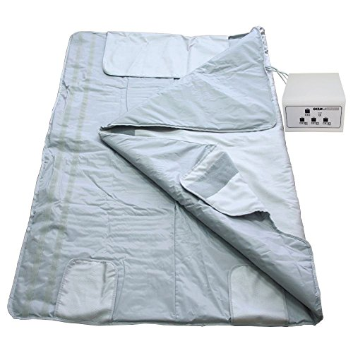 Gizmo Supply 3 Zone Digital Far-Infrared (FIR) Heat Sauna Blanket