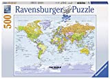 Ravensburger Political World Map 500pc Jigsaw Puzzle