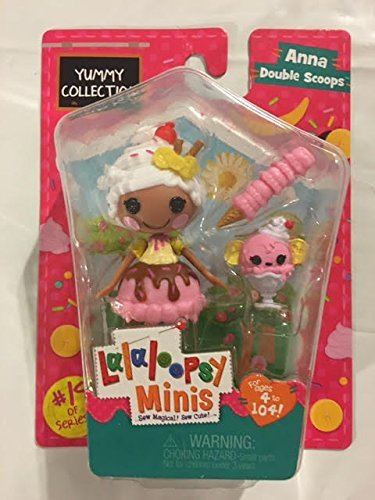Lalaloopsy Minis Yummy Collection -Anna Double Scoops