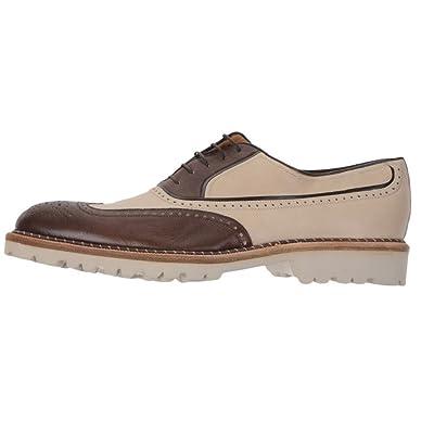 a.Testoni Men's Wingtip Oxfords Size 10