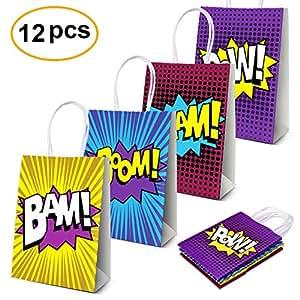 Amazon.com: Bolsas de regalo para fiestas de construcción ...