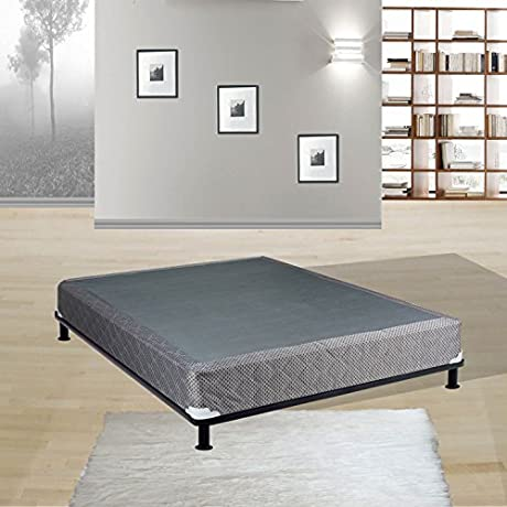 Spring Solution Fully Assembled Long Lasting 5 Inch Box Spring Cal King