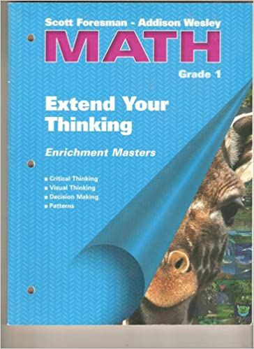 Extend Your Thinking Grade 1 (Scott Foresman -Addison Wesley Math ...
