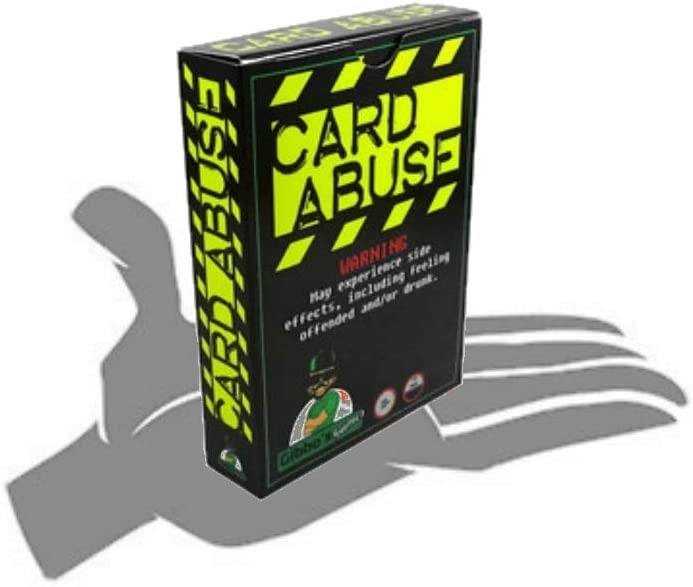 Card Abuse: Adult Card Game- Hilarious Word Matching With Optional ...