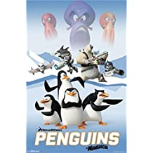 Posterazzi TIARP13695 Penguins of Madagascar - Cast Poster Print - 24 x 36 in.