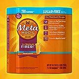 Metamucil Sugar Free, Orange Smooth - 53.2 oz Bottle (Pack of 2- 260 doses)