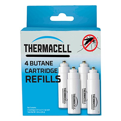 Thermacell C-4 Fuel Cartridge Refill, - Thermacell Cartridges Butane