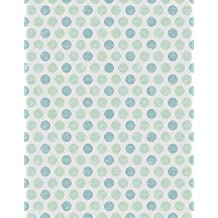 Photo Backdrops Green and Blue Painting Polka Dots on Gray Background Fresh Summer Photography Studio Shooting Props for Children Newborn Baby 5×7 ft