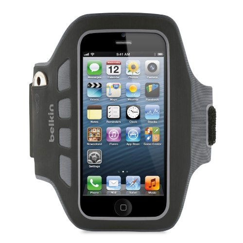 Belkin Ease Fit Armband iPhone Black