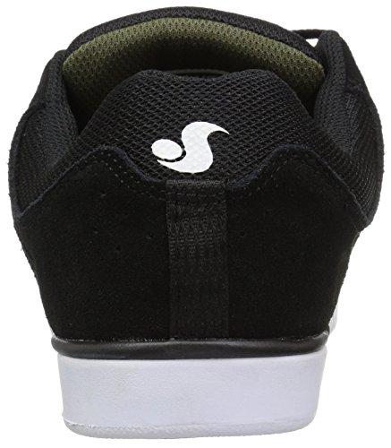 Chaussure DVS Kerry Getz Getz+ Vert Foncé-Noir-Suède