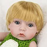 LZHEONELifelike Baby Doll, Simulation Silica Gel Completely Non - toxic Doll, Can accompany Bath Doll, Baby Birthday Gift