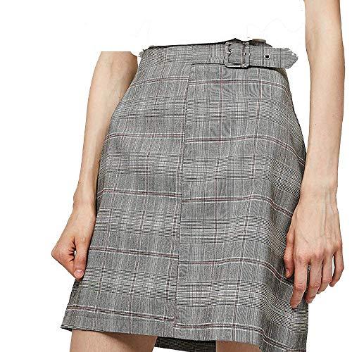 colore A Dimensione Grigio large Skirt Autumn Grigio Fuweiencore 2018 X Waist Rw1AAq