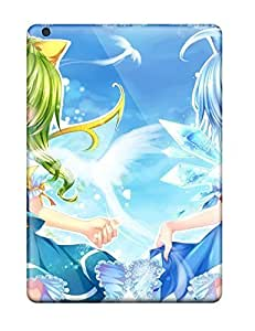 Shock-dirt Proof Video Games Touhou Cirno Daiyousei Case Cover For Ipad Air