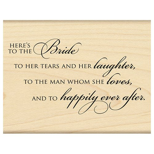 Penny Black Decorative Rubber Stamps, The Bride by Penny Black Inc