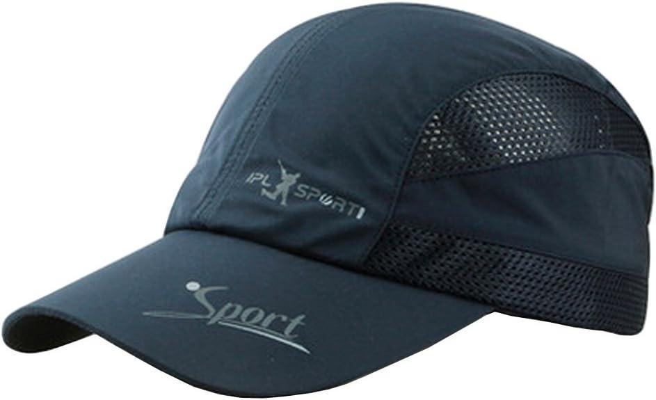 Blancho Hommes Casquette de Baseball r/églable Chapeaux Sport r/églables Chapeaux