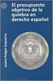 El presupuesto objetivo de la quiebra en derecho español