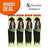 Outre Synthetic Hair Crochet Braids X-Pression 3D Braid 18