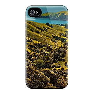 Bestcasesofmobile Rkx604TaOy Cases For Iphone 4/4s With Nice Valley To The Sea Appearance