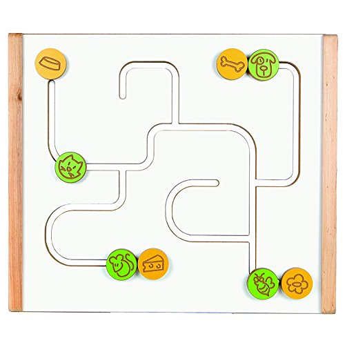 Animal Maze Wall Panel by Fun and Function